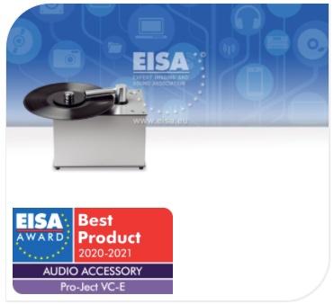 Prix EISA 2020-2021 - Machine à laver Pro-Ject VC-E