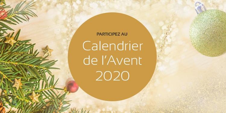 Participez au Calendrier de l'Avent 2020 de maPlatine.com