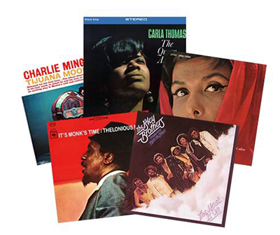 Lot de disques vinyles du label Speakers Corner