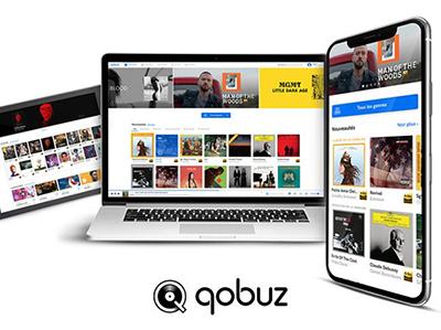 Plateforme de musique en streaming Qobuz