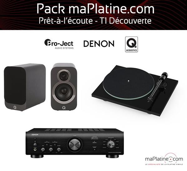Pack prêt-à-l'écoute T1 Découverte - maPlatine.com