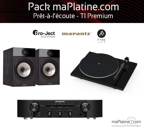 Pack prêt-à-l'écoute T1 Premium - maPlatine.com