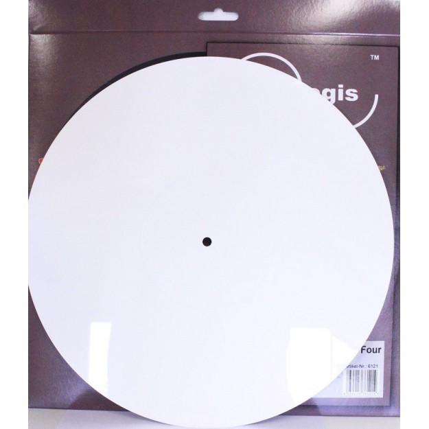 Analogis White Plastic Platter Mat 4