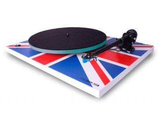 Platine vinyle manuelle Rega RP3 Union Jack