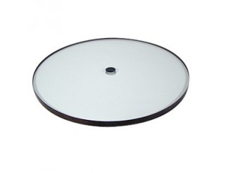 Glass platter for REGA turntables