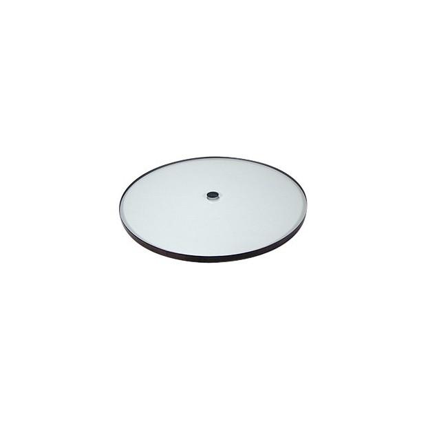 Glass platter for REGA turntables