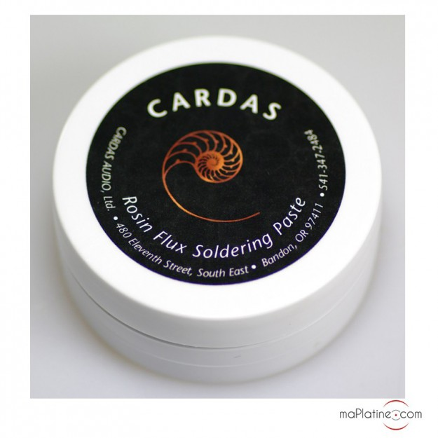 Cardas Rosin Flux Soldering Paste