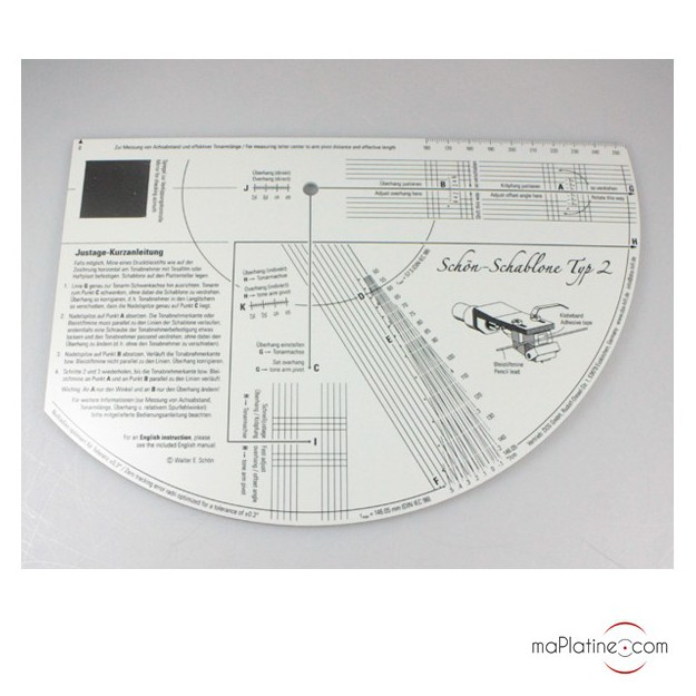TONAR Protractor Pro alignment protractor