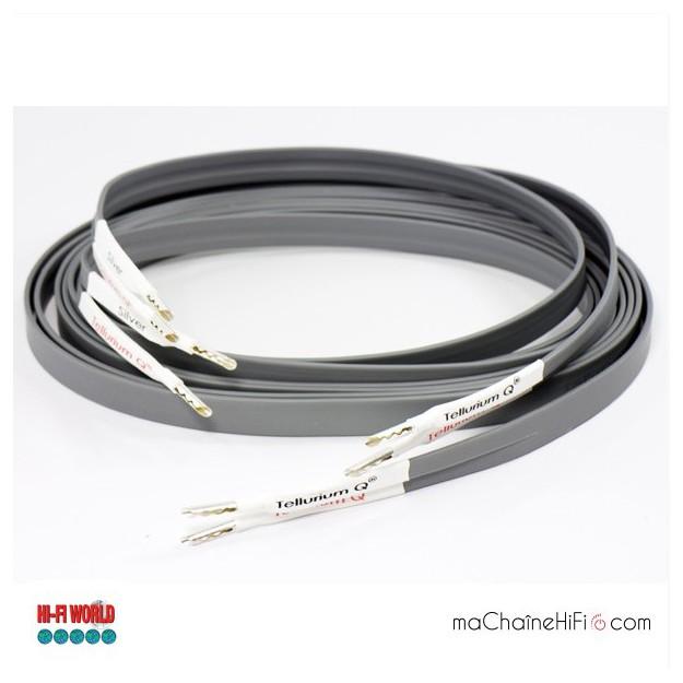 Câbles Haut-Parleurs Tellurium Silver