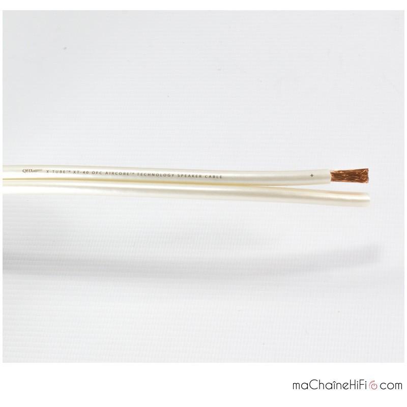 QED X-Tube XT40 SPK Speaker Cable Coil - maPlatine com
