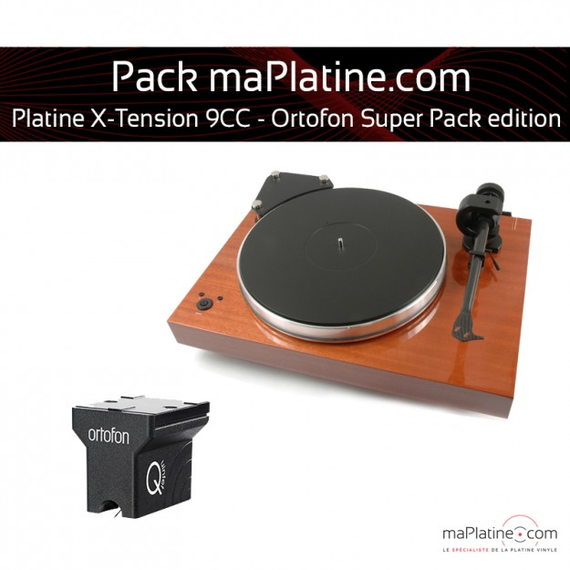 Platine vinyle Pro-Ject X-Tension 9 - Ortofon Super Pack Edition