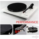 REGA Planar 1 Performance Pack Turntable - White