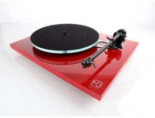 Platine vinyle REGA Planar 3 avec cellule Elys 2 - rouge