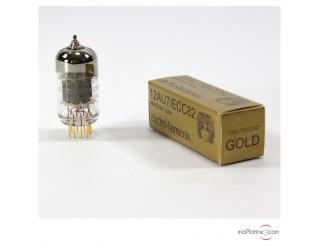 12AU7-EH Gold Electro Harmonix double triode tube