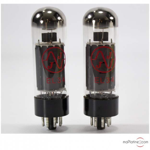 Pentode EL34-JJ tubes (pair)