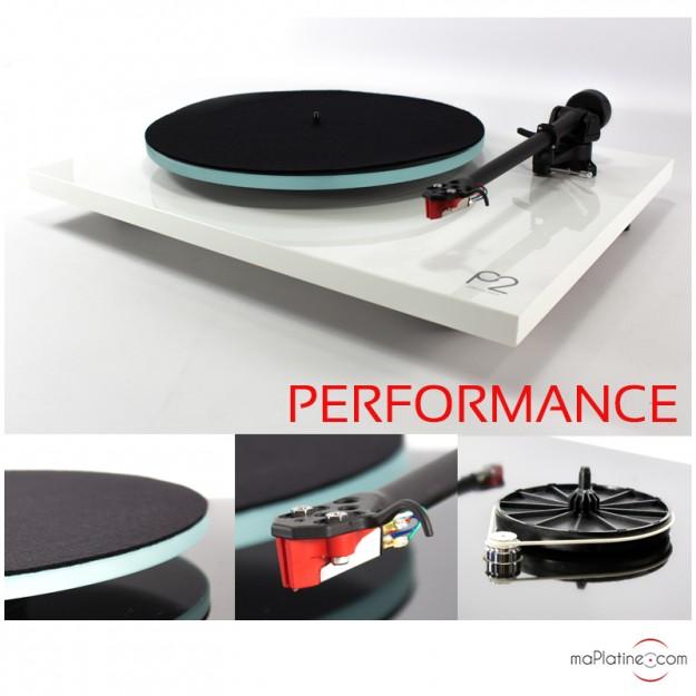 Platine vinyle REGA Planar 2 Performance Pack - Blanc