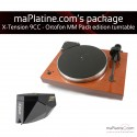 Pro-Ject X-Tension 9 Turntable - Ortofon MM Package Edition - Mahogany