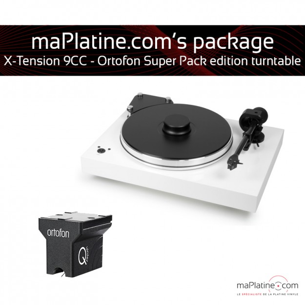 Platine vinyle Pro-Ject X-Tension 9 - Ortofon Super Pack Edition S