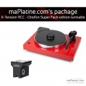 Pro-Ject X-Tension 9 Turntable - Ortofon Super Package Edition - Red