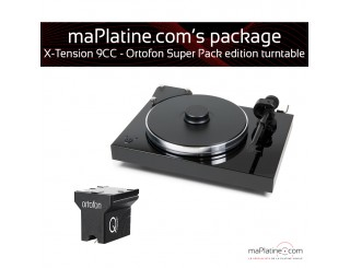 Platine vinyle Pro-Ject X-Tension 9 - Ortofon Super Pack Edition - Noir