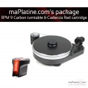 Pro-Ject RPM 9 Carbon - Cadenza Red edition turntable pack