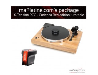 Pack Platine vinyle Pro-Ject X-tension 9 - Cadenza Red edition
