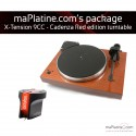Pro-Ject X-tension 9 Turntable Package - Cadenza Red Edition - Mahogany