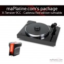 Pro-Ject X-tension 9 Turntable Package- Cadenza Red Edition - Black