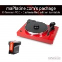 Pro-Ject X-tension 9 Turntable Package - Cadenza Red Edition - Red