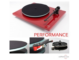 Platine vinyle REGA Planar 2 Performance Pack - Rouge