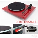 REGA Planar 2 Performance Pack turntable - Red