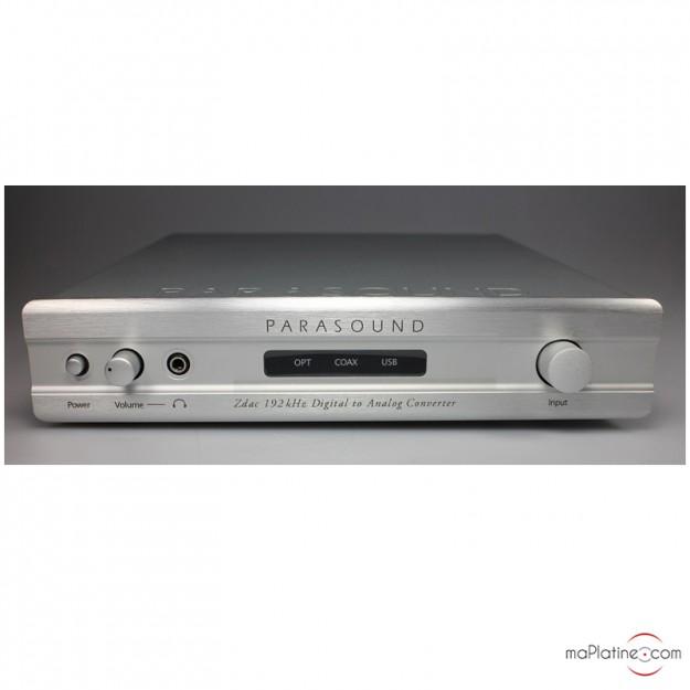 DAC (convertisseur numérique analogique) Parasound ZDac