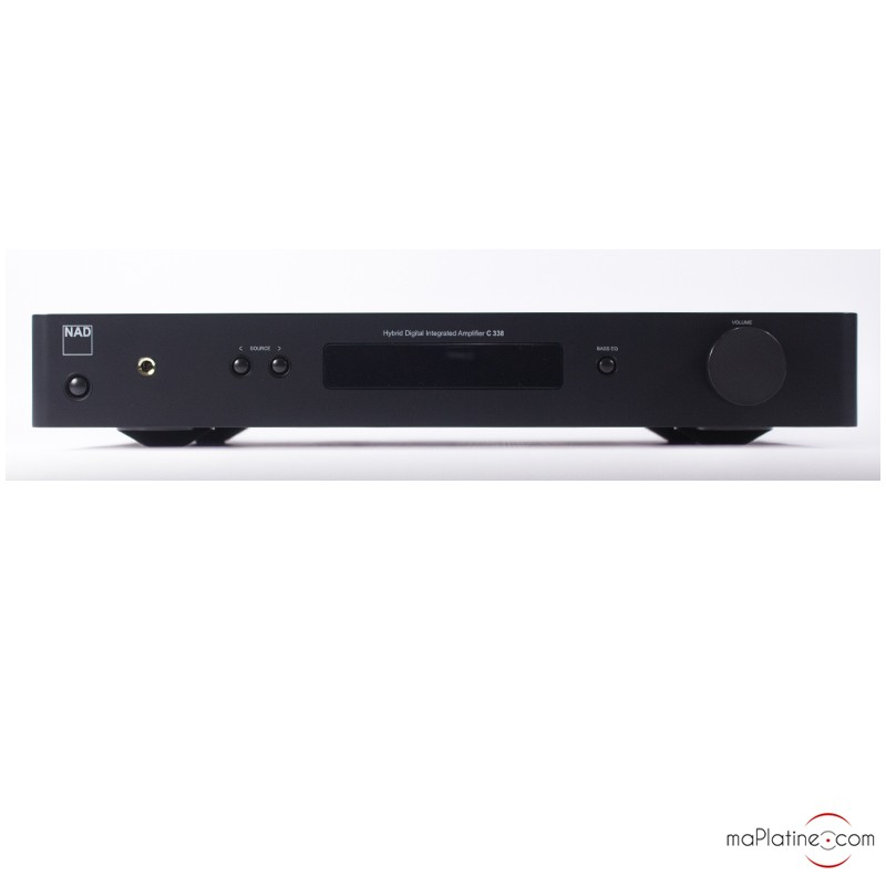 NAD C338 integrated amplifier - maPlatine com