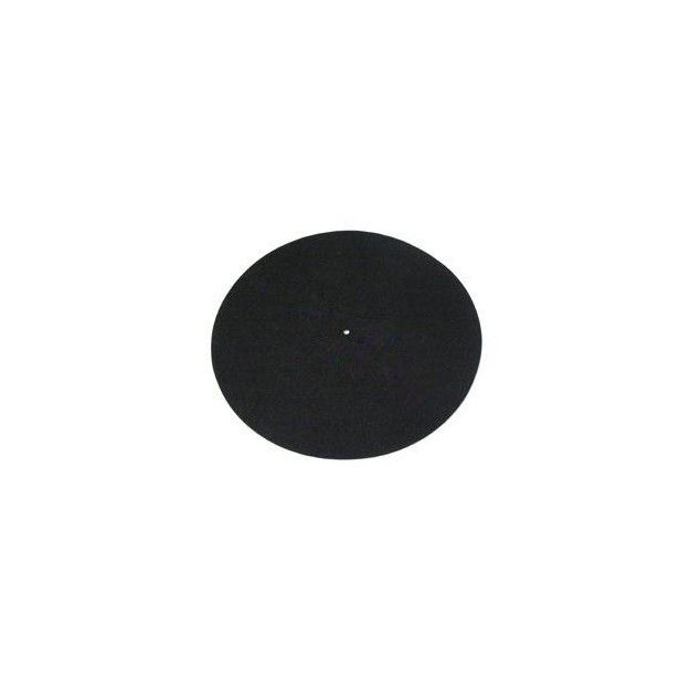 REGA black universal platter mat