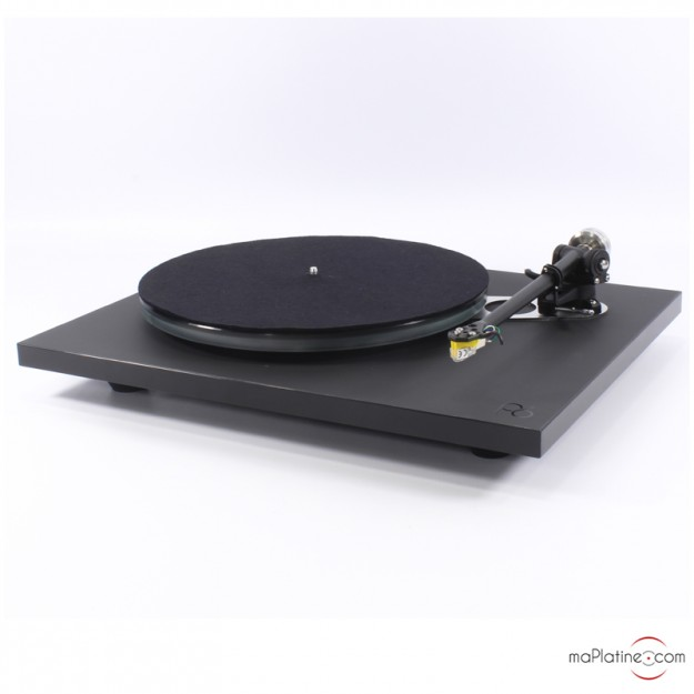 Platine vinyle Rega Planar 6 + NeO PSU avec cellule Exact - Noir