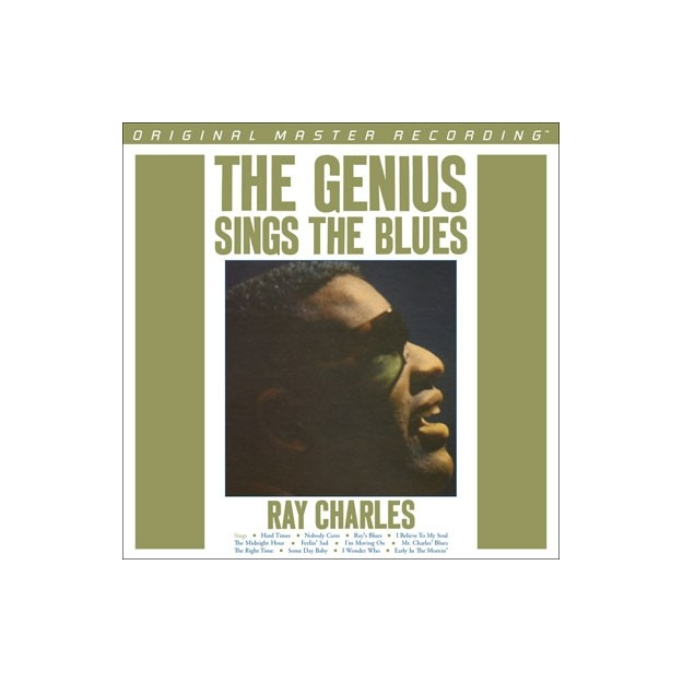 Disque vinyle Ray Charles – The Genius Sings the Blues