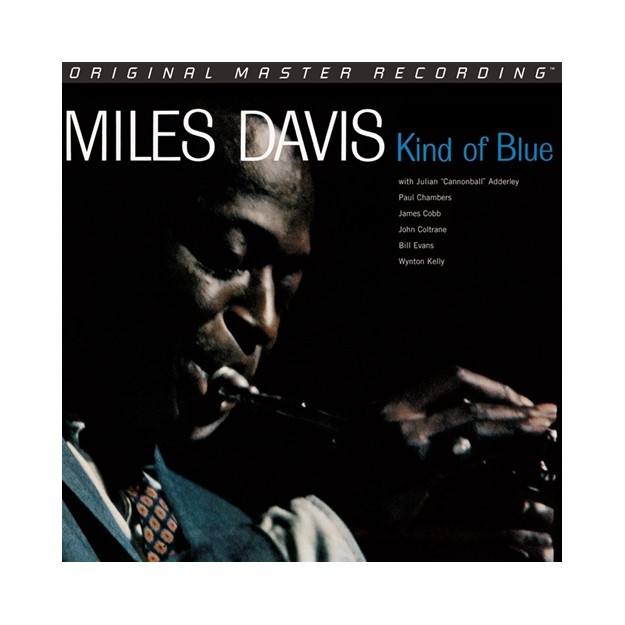 Disque vinyle Miles Davis - Kind Of Blue - 45RPM/2LPs set box - LMF45011