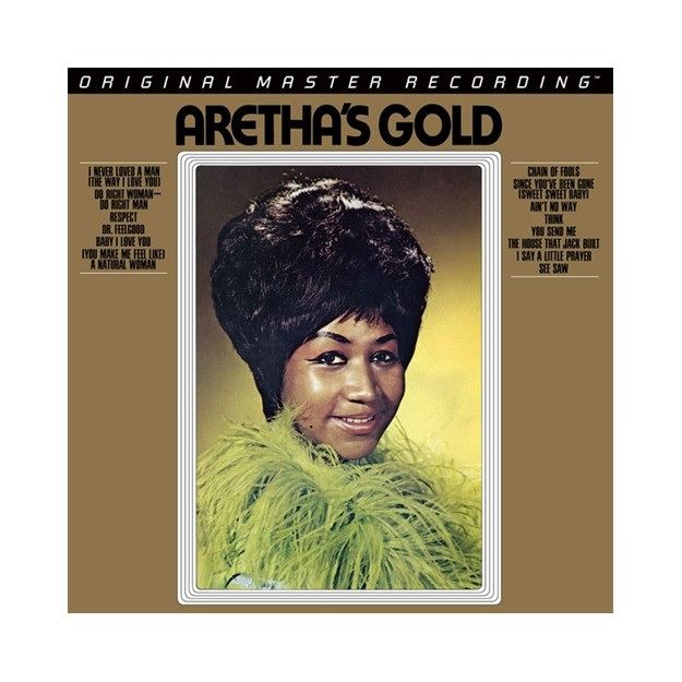 Disque vinyle Aretha Franklin - Aretha's Gold - 45RPM/2LPs - LMF479