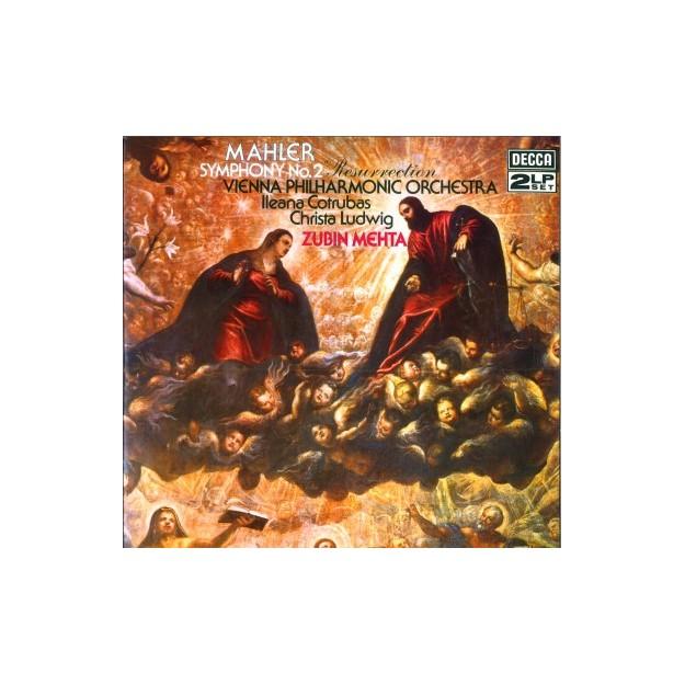 Disque vinyle Gustav Malher - Symphonie n°2 (Zubin Metha)
