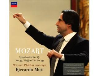 Disque vinyle Mozart - Symphonies n°25, 35 et 39 (Riccardo Muti)