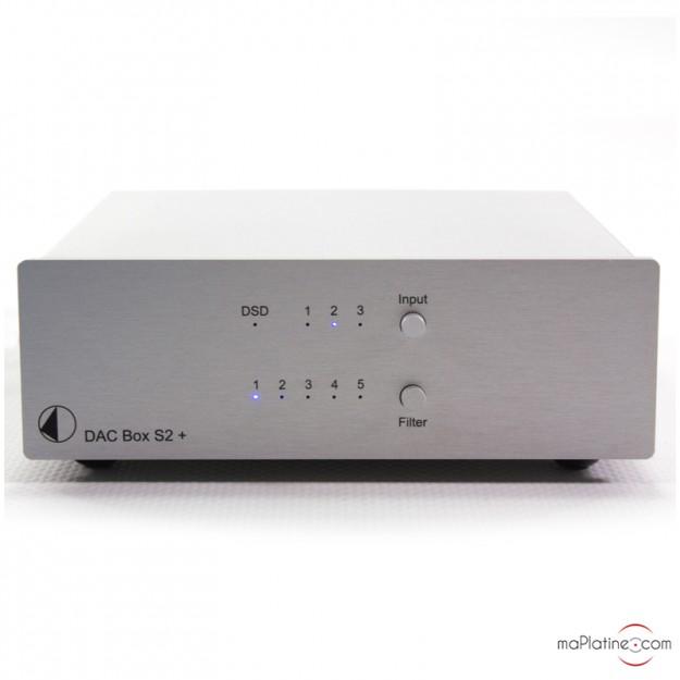 DAC Pro-Ject DAC Box S2 +