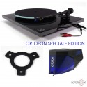 Rega Planar 2 - 2M Blue SE turntable - Black