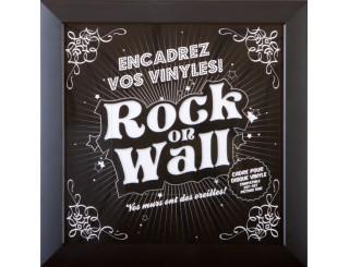 Rock on Wall vinyl record frame