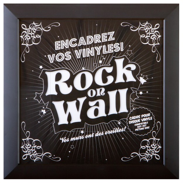 Rock on Wall vinyl record frame