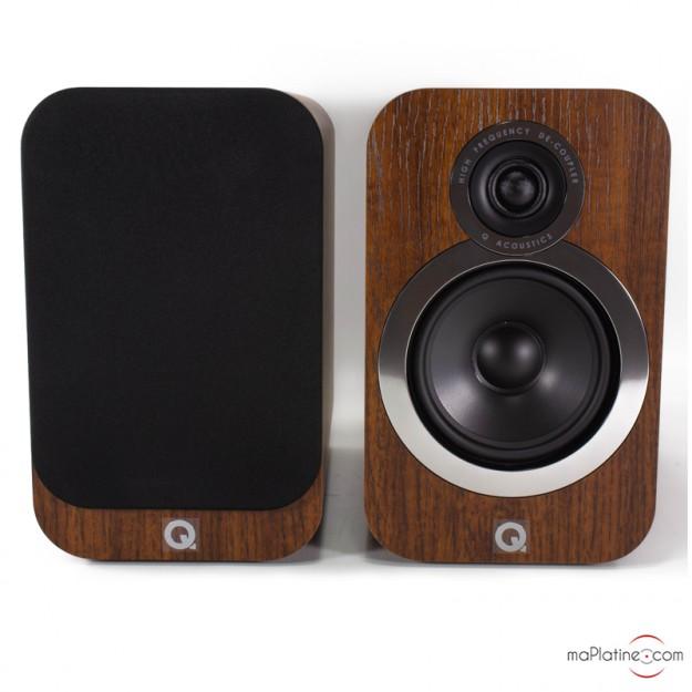 Enceintes de bibliothèque Q Acoustics 3020i NEW