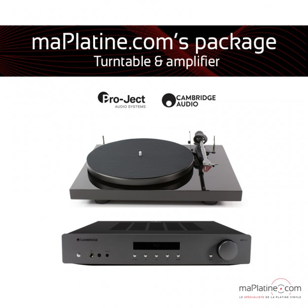 Pack Platine vinyle + amplificateur maPlatine.com