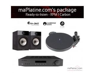 Pack Prêt à l'écoute RPM1 Carbon