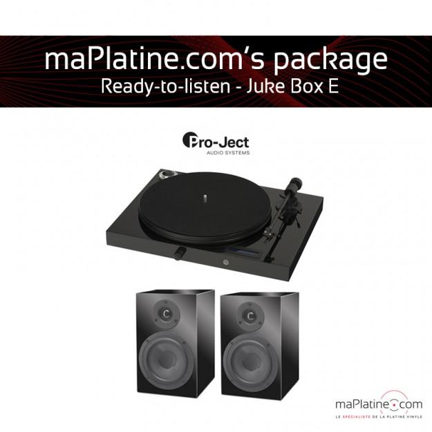 Pack prêt à l'écoute Juke Box E - Noir