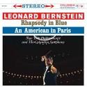 Gershwin - Rhapsody In Blue vinyl record (by Bernstein)