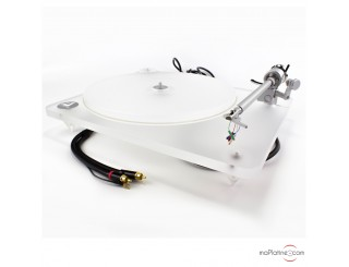 Platine vinyle manuelle Clearaudio Whitemotion (Limited Edition)